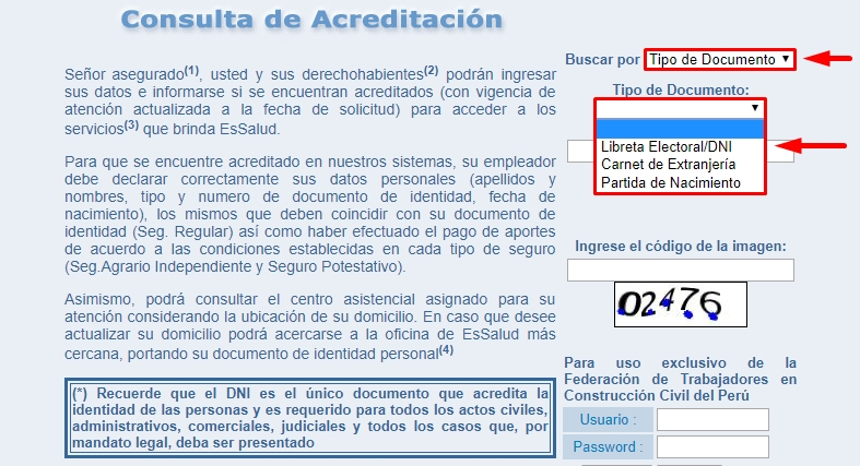 Paso 4 tipo de documento