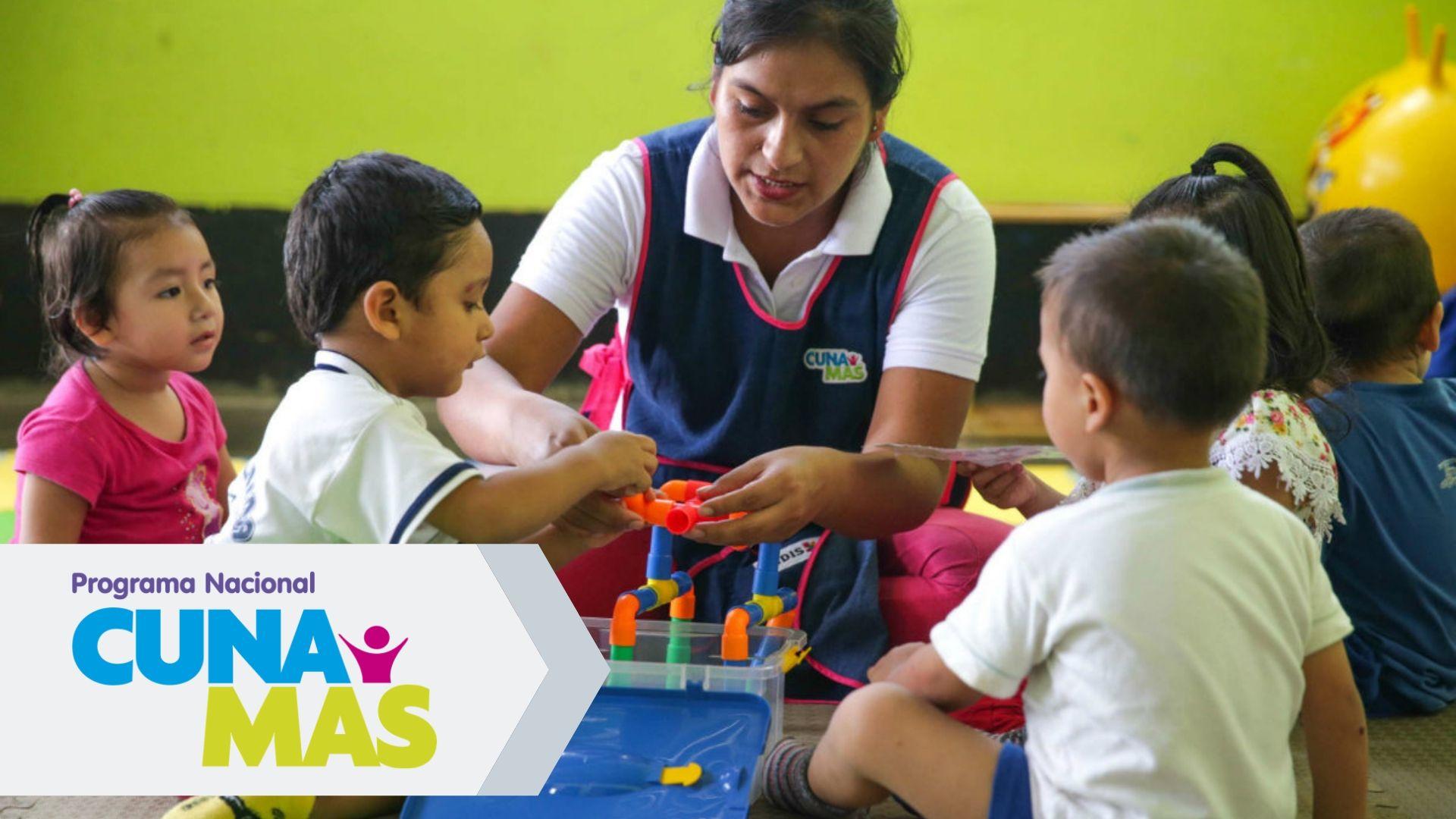 Servicio de cuidado diurno Cuna Más Perú