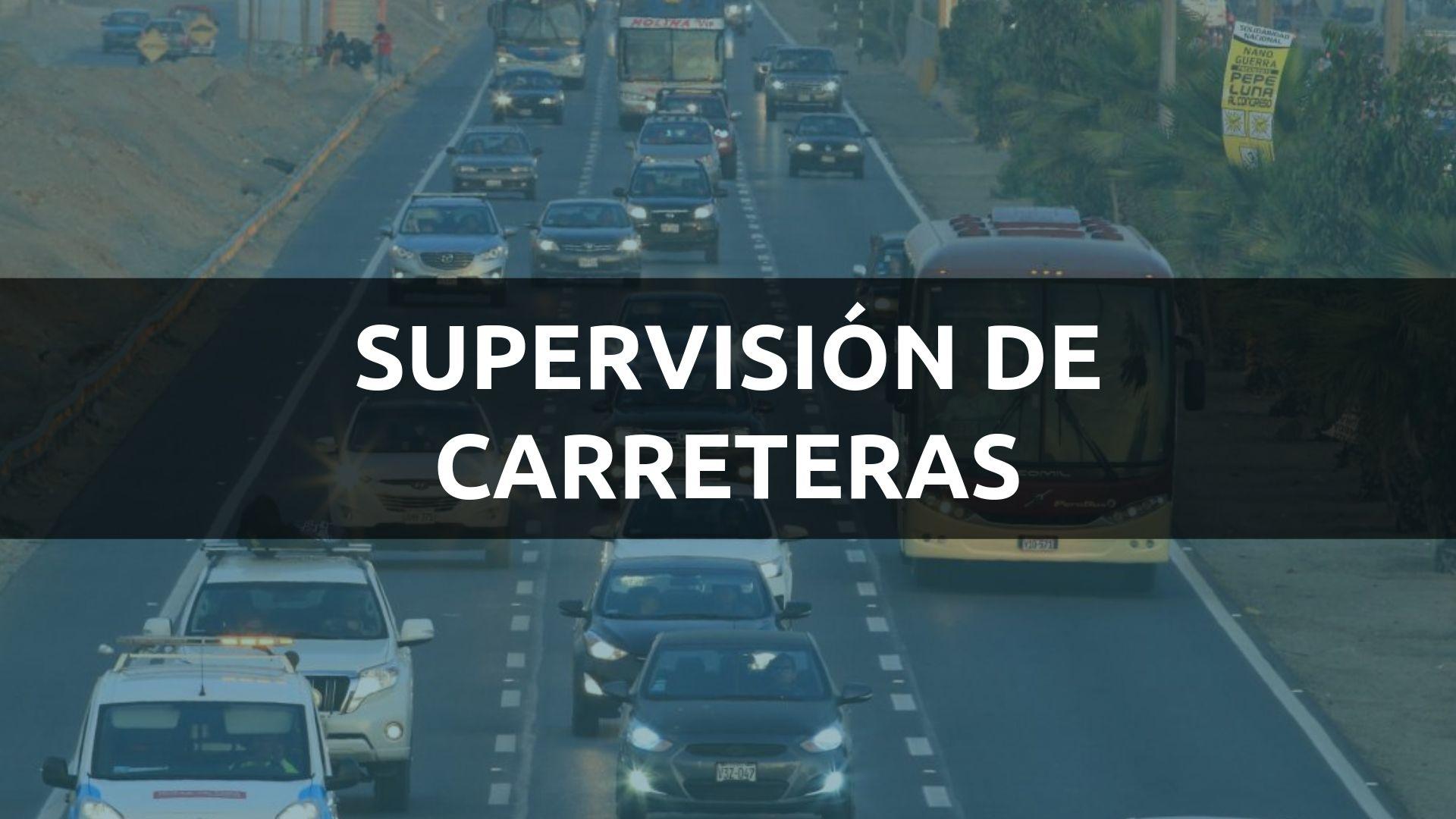 SUPERVISIÓN DE CARRETERAS OSITRAN PERÚ