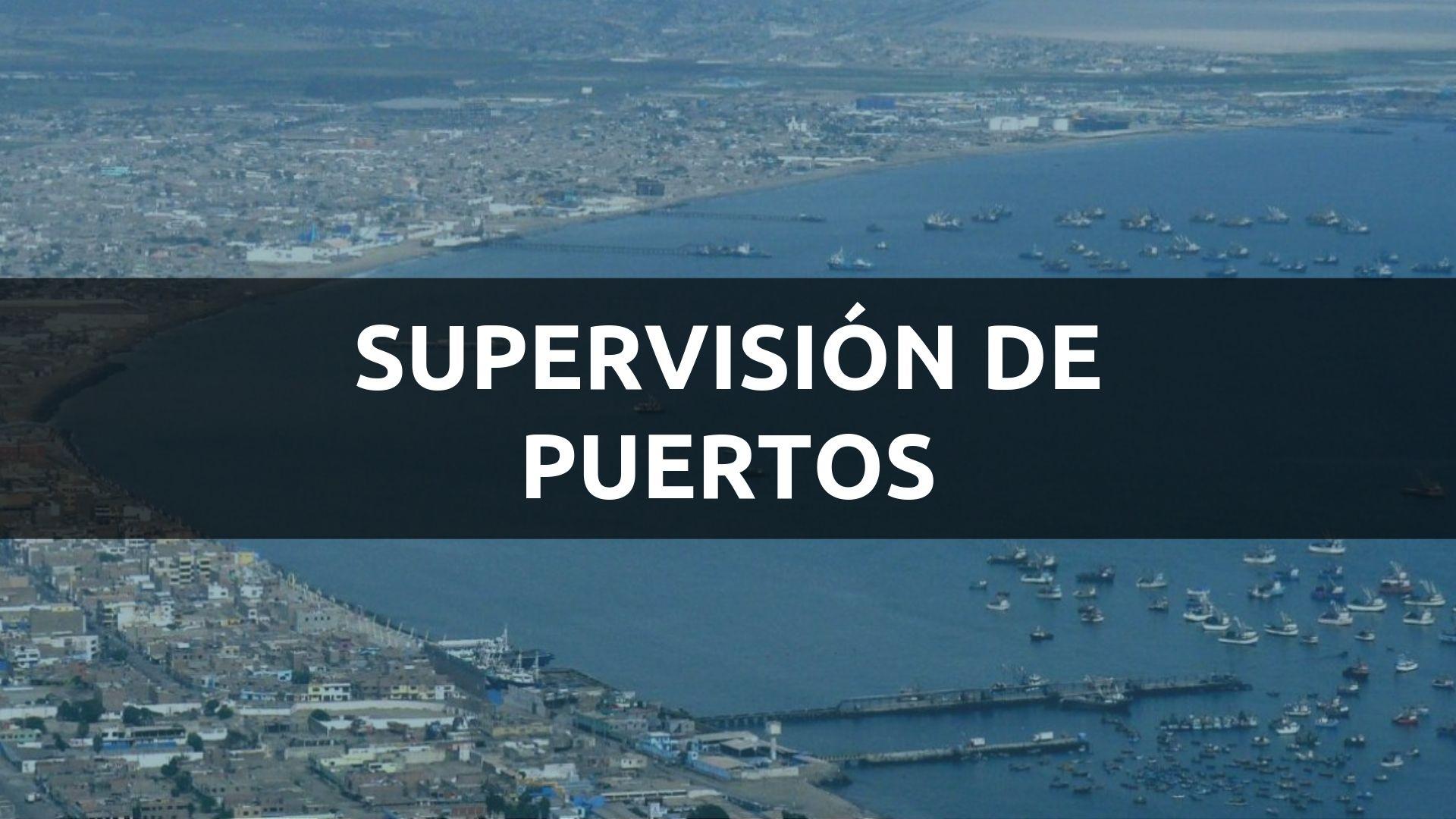 SUPERVISIÓN DE PUERTOS