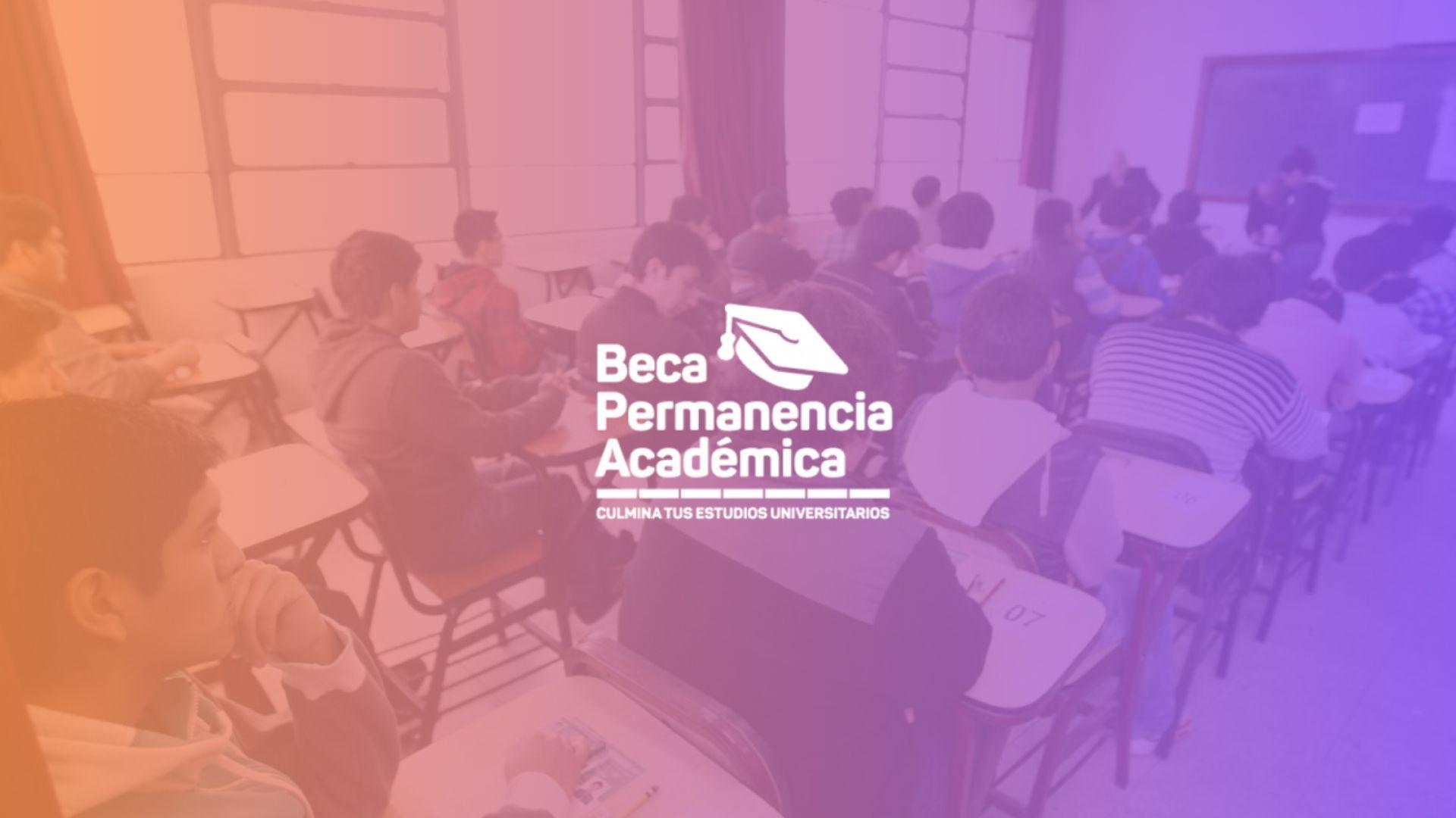 Beca de permanencia académica PRONABEC Perú