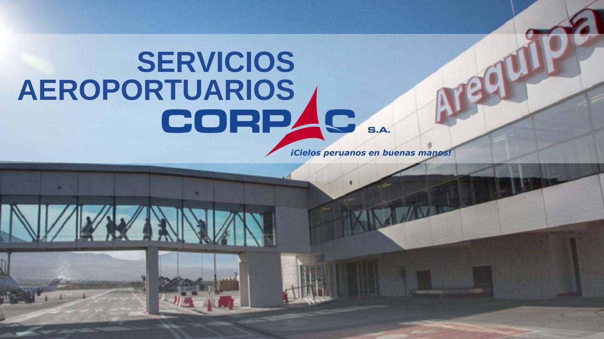 Servicios aeroportuarios CORPAC Perú