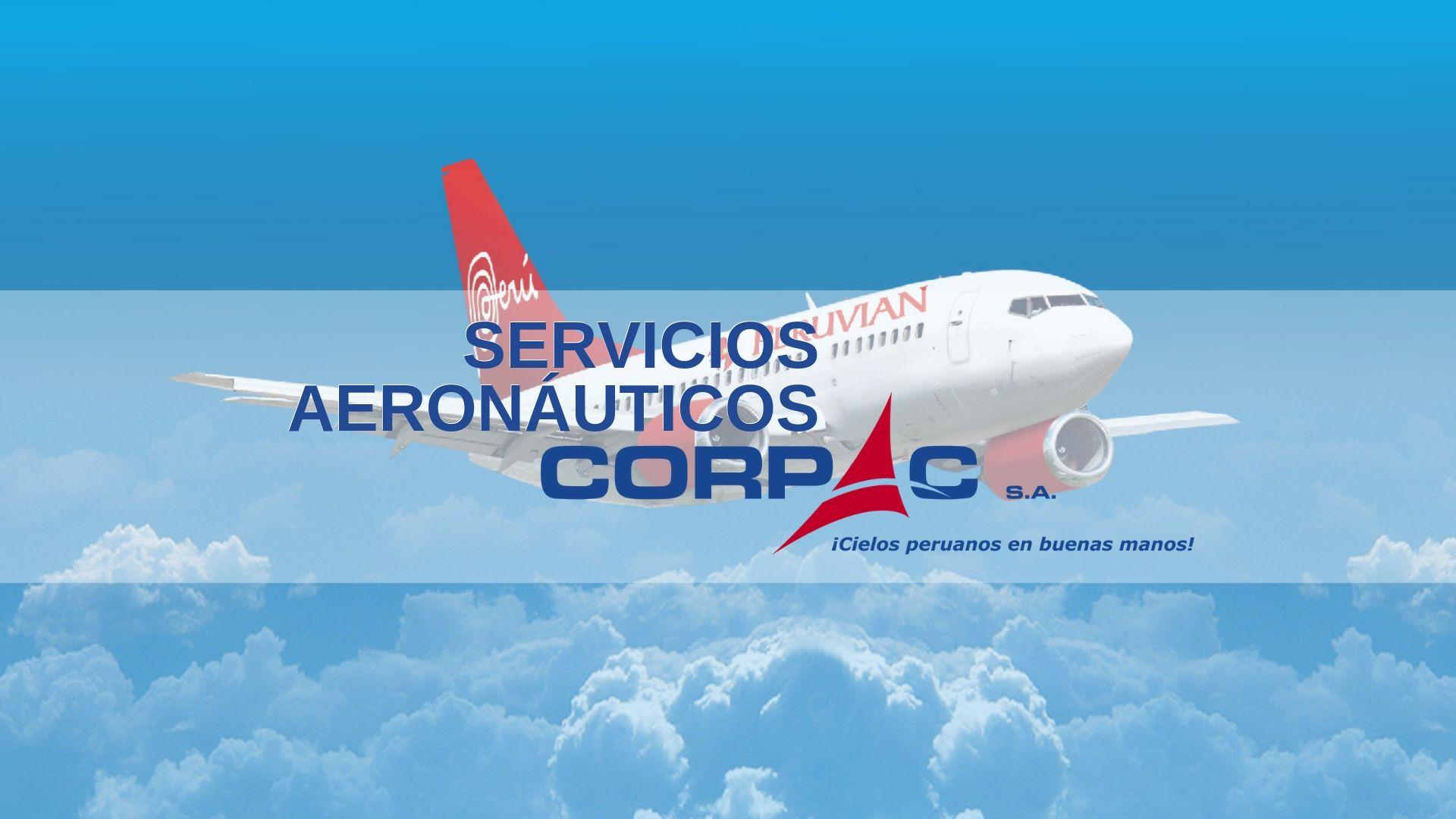 Servicios aeronáuticos CORPAC Perú