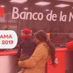 Cronograma de pagos banco de la nación 2019
