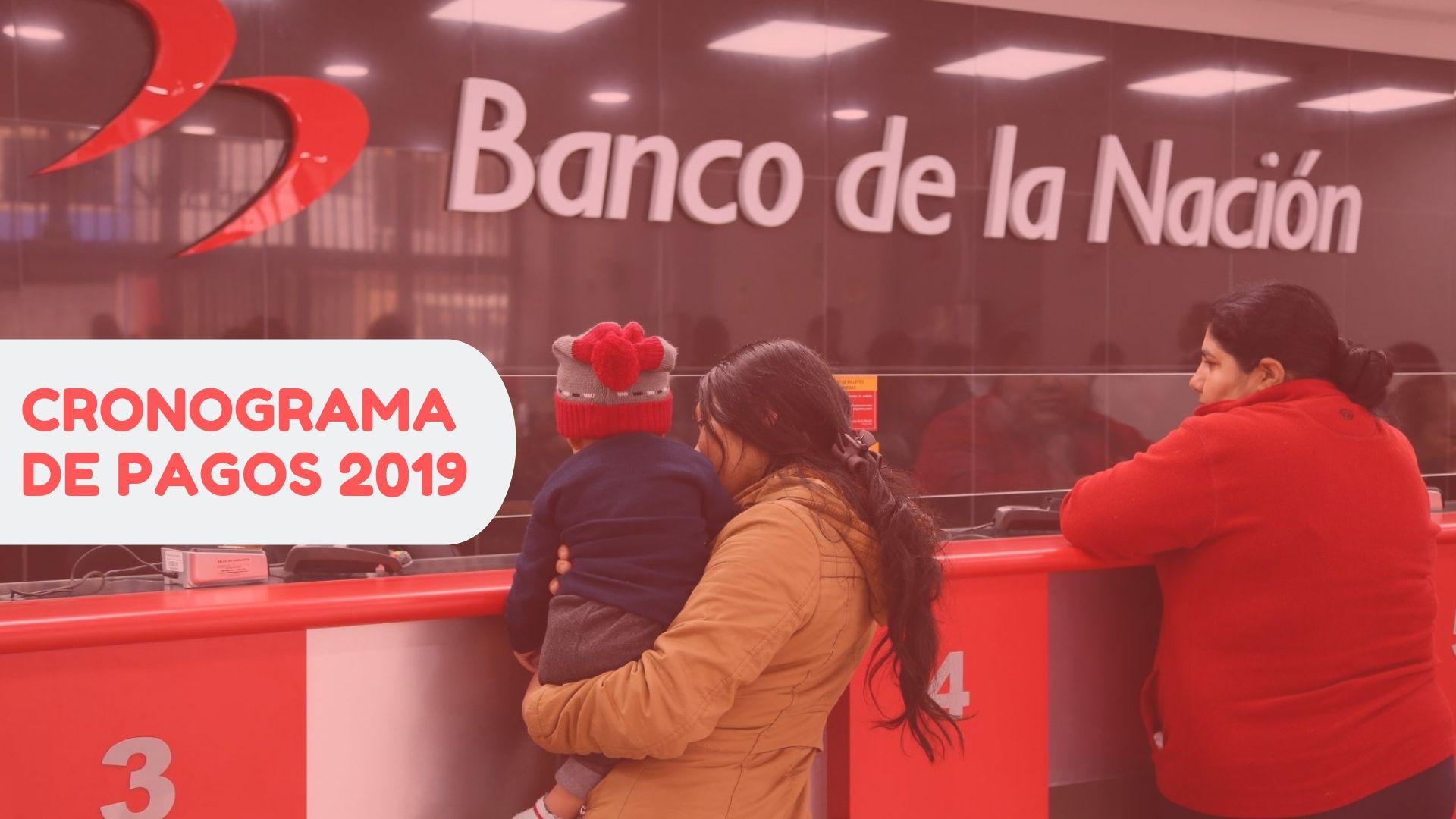 Cronograma de pagos banco de la nación 2020