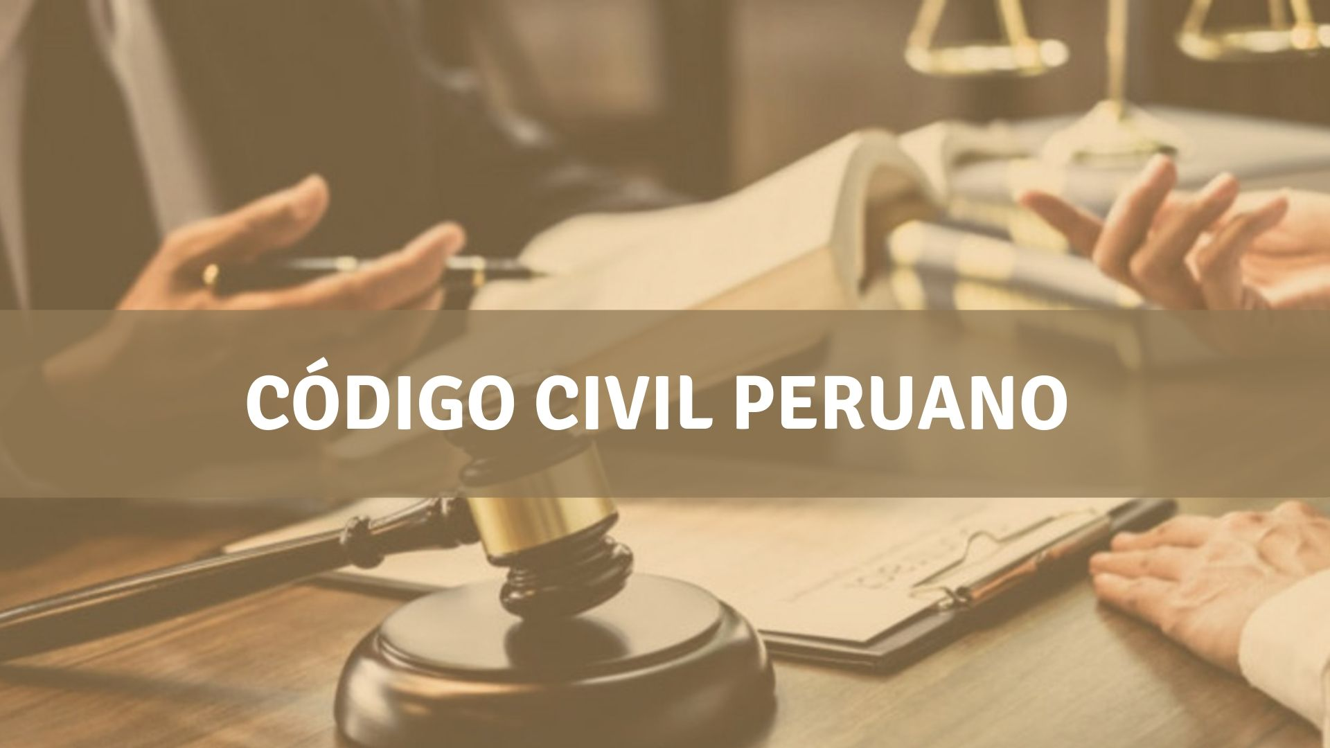 Consultar código civil peruano