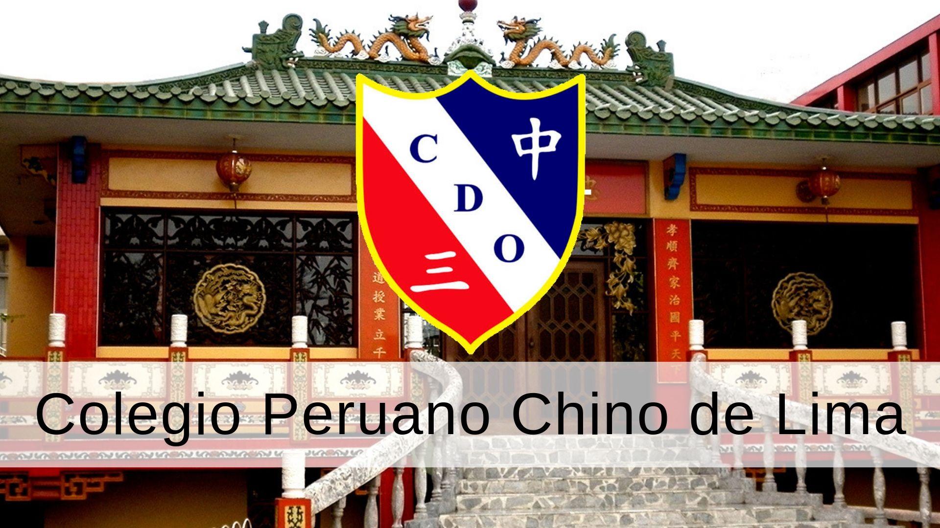 Colegio Peruano Chino de Lima