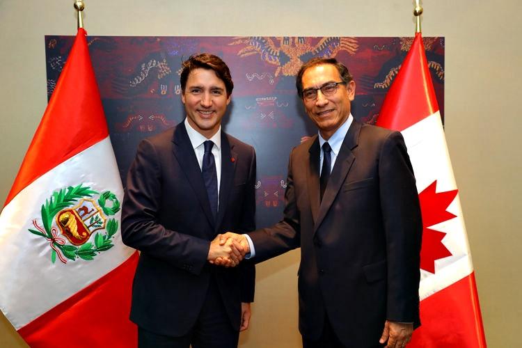 Peruanos en Canadá