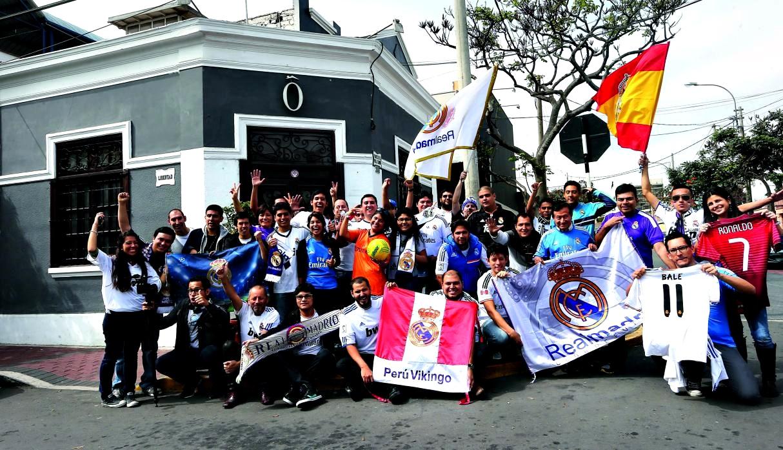 Peruanos en Madrid