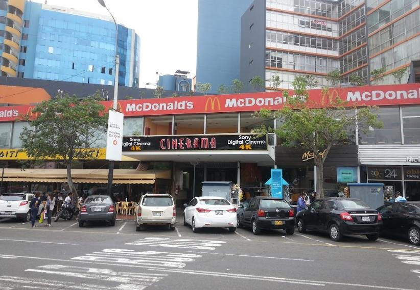 Cines en Lima cinerama El Pacífico