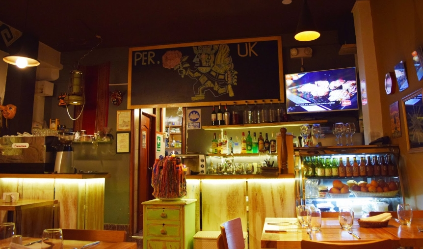 Restaurante PER.UK en Cusco