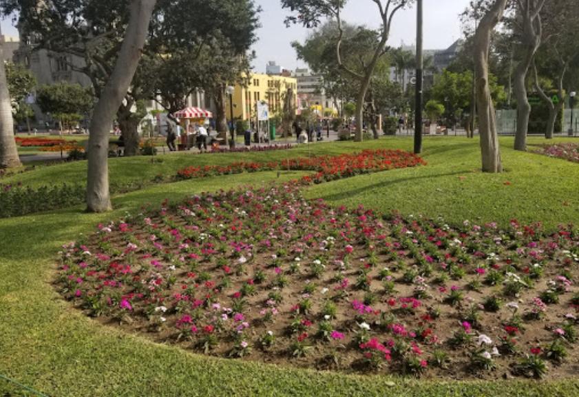 Parque Central de Miraflores Lima