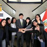 Peruanos en Corea del Sur