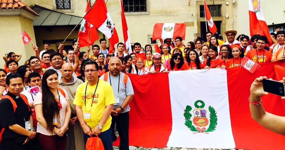Peruanos en Polonia