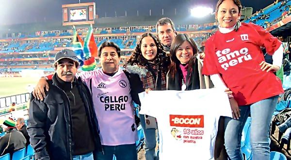 Peruanos en Sudafrica
