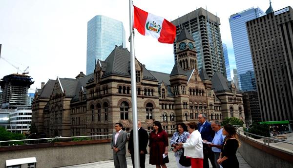 Peruanos en Toronto