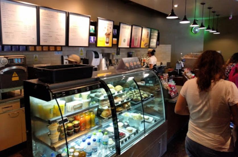 Starbucks café Lima